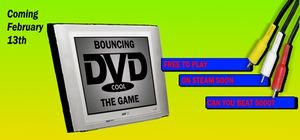 Bouncing DVD: The Game cover