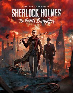 Sherlock Holmes: The Devil's Daughter cover