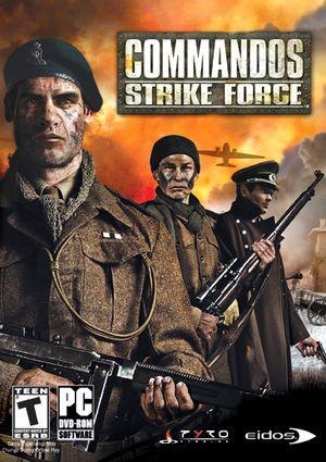 Commandos: Strike Force cover