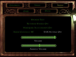 Audio options (With T2Fix)
