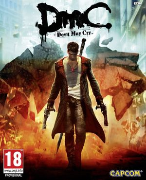 DmC: Devil May Cry cover