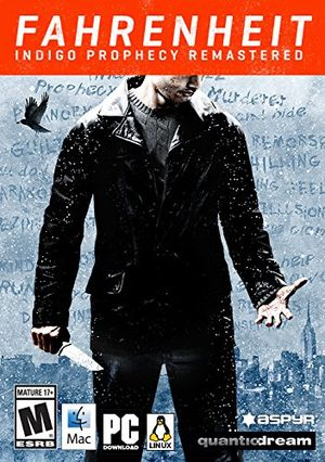 Fahrenheit: Indigo Prophecy Remastered cover