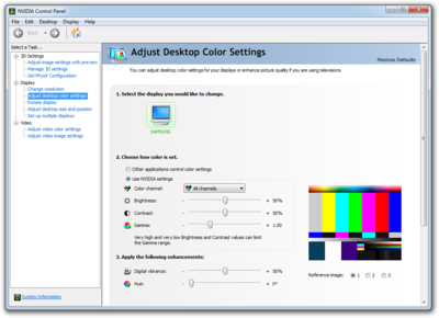 Nvidia Control Panel - PCGamingWiki PCGW - bugs, fixes