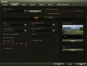 world of tanks 4k resolution mod