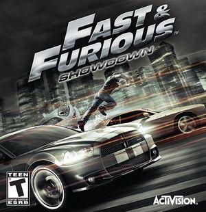Fast & Furious: Showdown cover