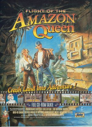 Flight of the Amazon Queen cover