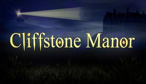 Cliffstone Manor cover