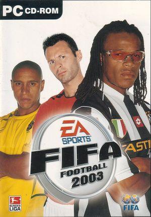 FIFA Football 2003 cover