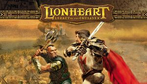 Lionheart: Legacy of the Crusader cover