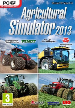 Agricultural Simulator 2013 cover