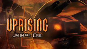 Uprising: Join or Die cover