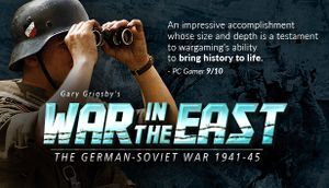 Gary Grigsby's War in the East cover