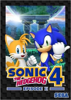 Sonic the Hedgehog 4: Episode II cover