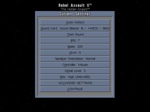 Basic launcher settings.