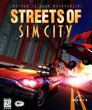 Streets of SimCity cover