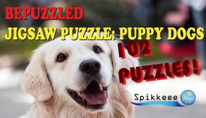 Bepuzzled Puppy Dog Jigsaw Puzzle cover