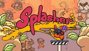 Splasher cover