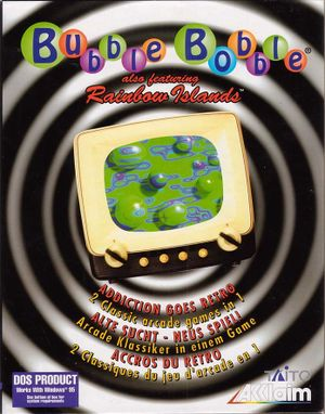 Bubble Bobble (also featuring Rainbow Islands) cover