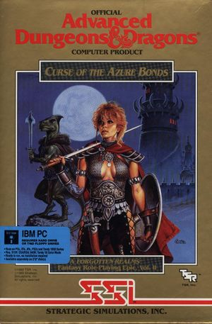 Curse of the Azure Bonds cover