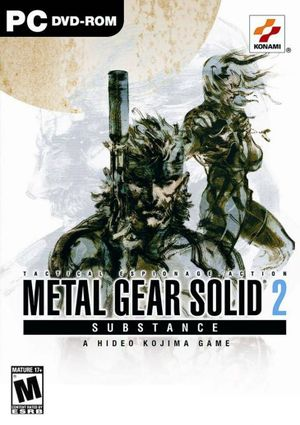 Metal Gear Solid 2: Substance cover