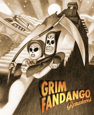 Grim Fandango Remastered cover