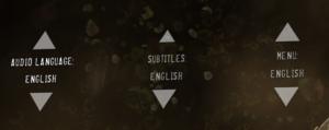 Language settings