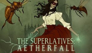 The Superlatives: Aetherfall cover