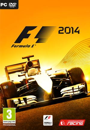 F1 2014 cover