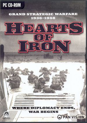 Hearts of Iron cover