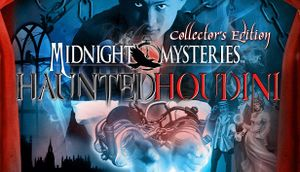 Midnight Mysteries 4: Haunted Houdini cover