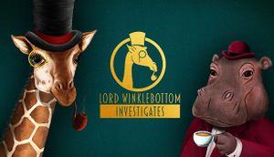 Lord Winklebottom Investigates cover