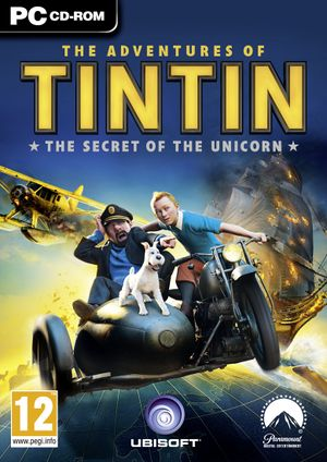 The Adventures of Tintin: The Game cover
