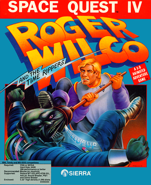 Space Quest IV: Roger Wilco and the Time Rippers cover