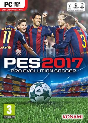Pro Evolution Soccer 2017 cover