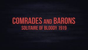 Comrades and Barons: Solitaire of Bloody 1919 cover