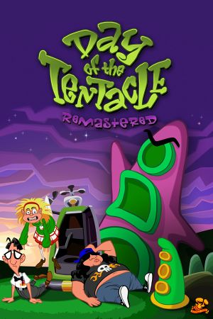 Day of the Tentacle Remastered cover