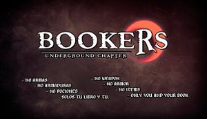 Bookers: Underground Chapter cover