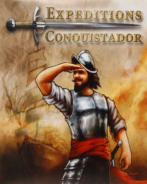Expeditions: Conquistador cover
