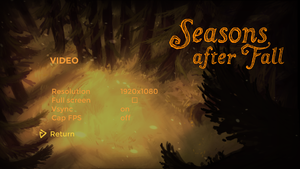 Seasons after Fall - PCGamingWiki PCGW - bugs, fixes