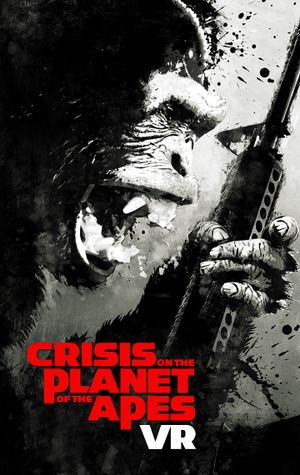 Crisis on the Planet of the Apes cover