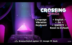 In-game game settings.