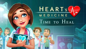 Heart's Medicine: Time to Heal cover