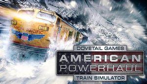 American Powerhaul Train Simulator cover