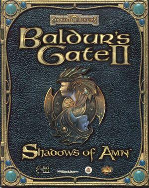Baldur's Gate II: Shadows of Amn cover