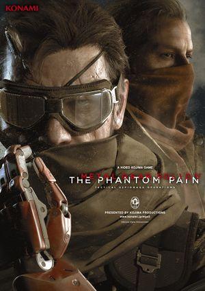 Metal Gear Solid V: The Phantom Pain cover