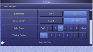 In-game settings part 2.