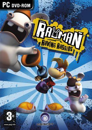 Rayman Raving Rabbids cover