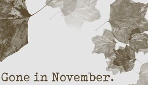 Gone In November cover