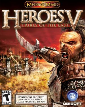 Heroes of Might and Magic V: Tribes of the East cover