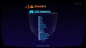 Default keyboard settings.